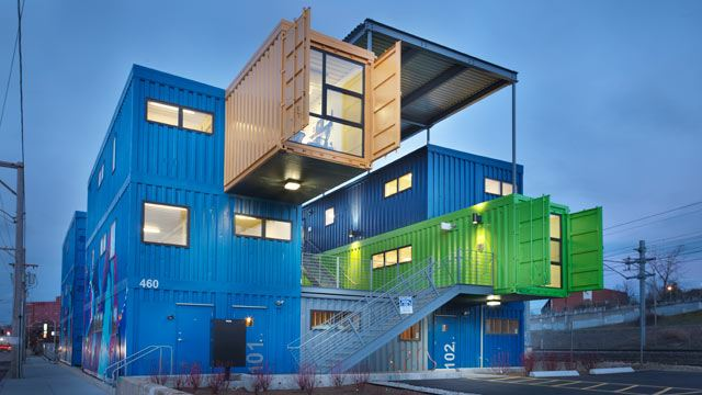 green container architecture – great way to go green or just a fad