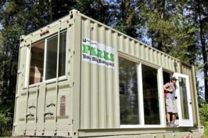 Camper container
