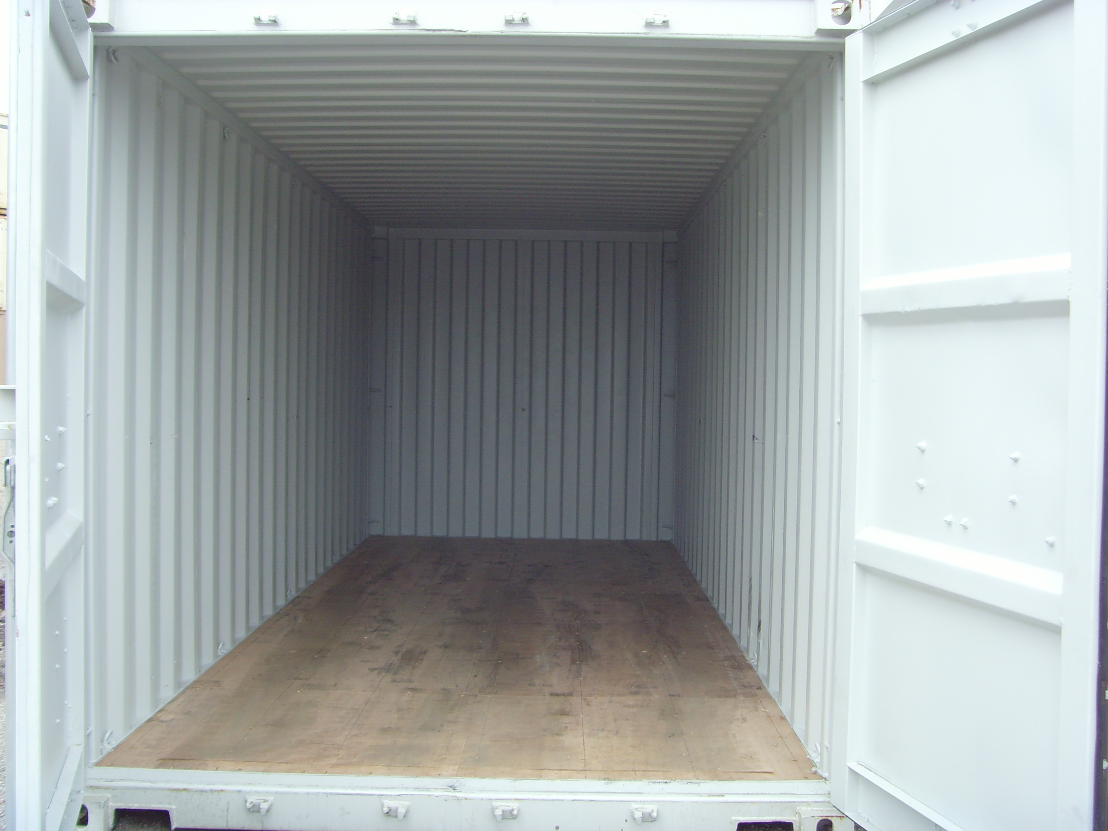 Container Floors A close up look Shipping Containers at a Fair