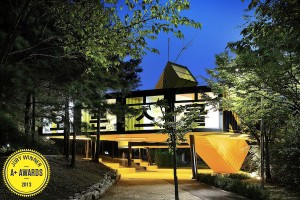 Architecture + Fabrication award for the Anyang Public Art Project by LOT-EK Studio, photo courtesy of architizer.com