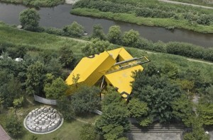 OpenHouse's creative architecture from above, photo courtesy of architizer.com