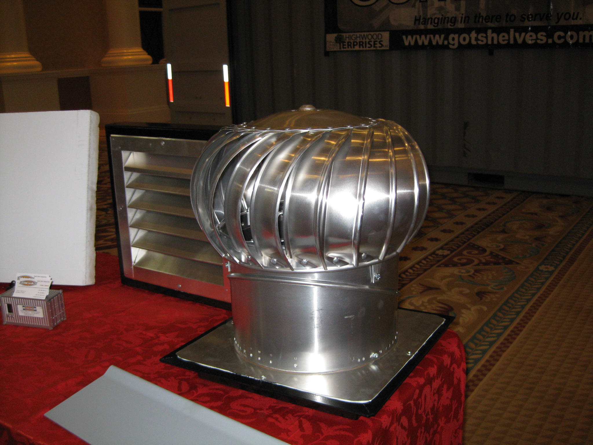 Turbine Air Vent : Container venting options you should consider — shipping