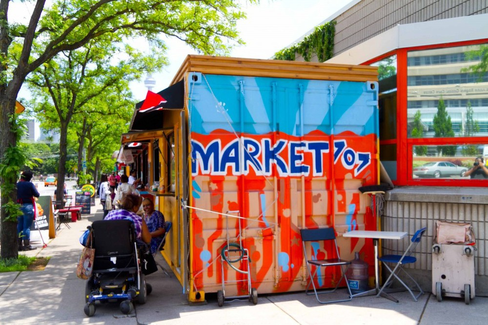 Market 707's global mix of stalls