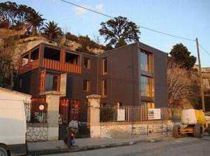 Drouin and Sanchez's Marseille France Container Home