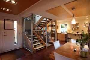 An open floorplan