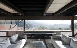Casa Oruga's living room