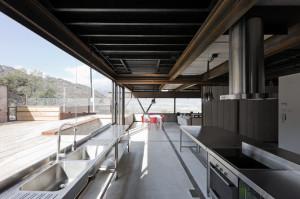 Casa Oruga's open design