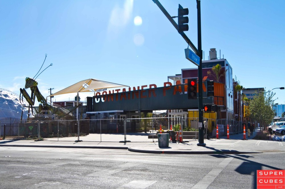 Container park in las vegas shipping containers at a fair price super cubes llc 1 877 374 5452 - Container homes las vegas ...