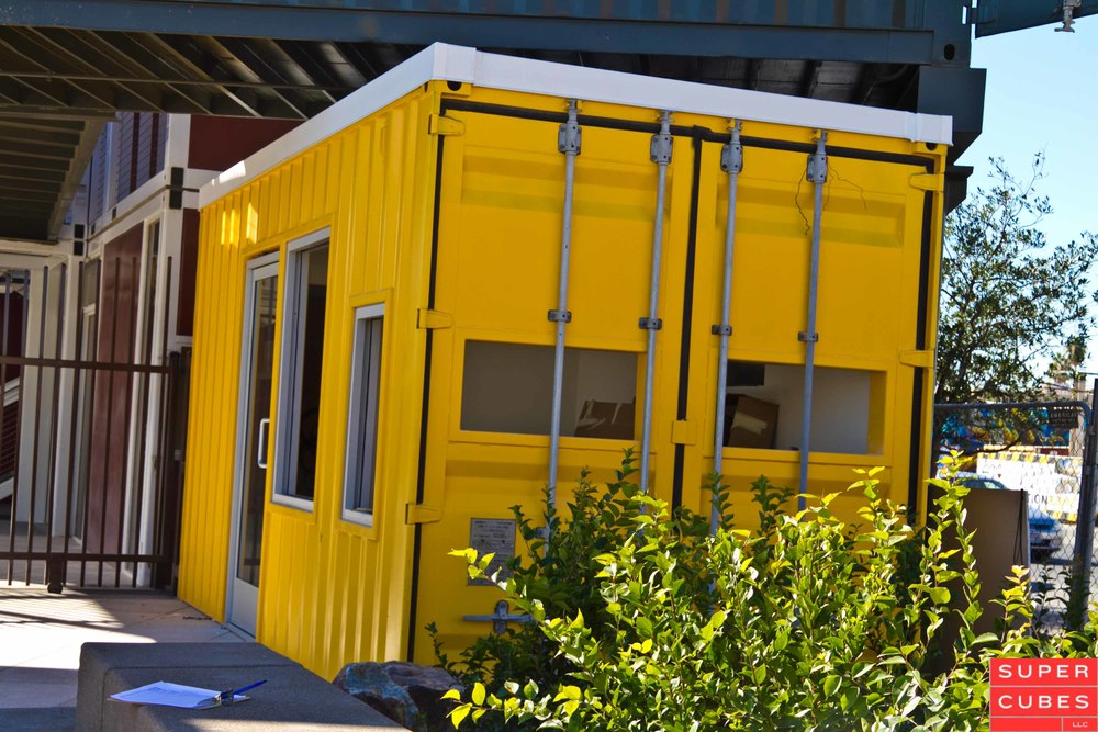 Container projects come in many shapes and sizes, like this part of Container Park in Las Vegas