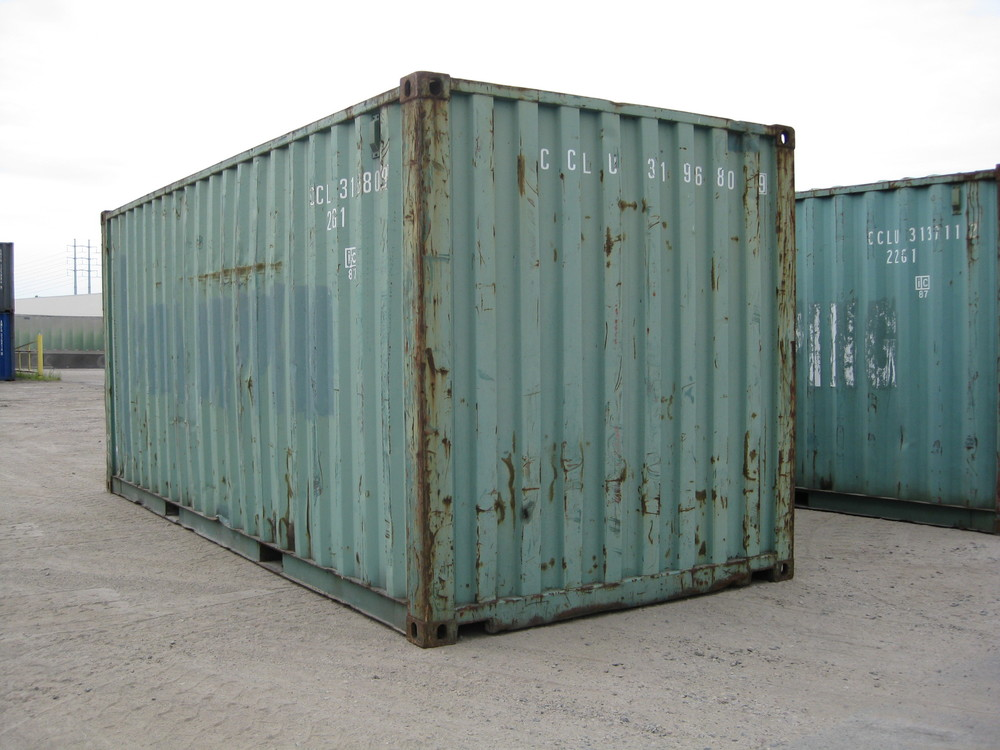 Used containers are great recycled or upcycled materials.