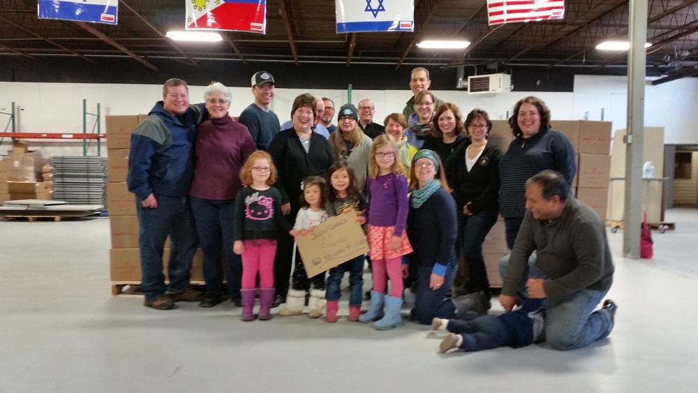 Super Cubes team volunteers at Matter in St Louis Park, MN