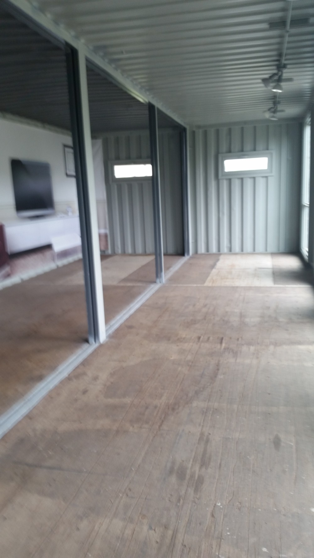 Open first floor