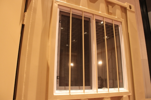 Window kit with window bar kit