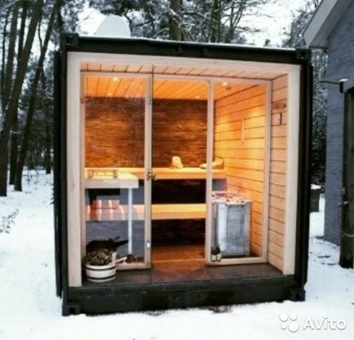 One of a kind sauna