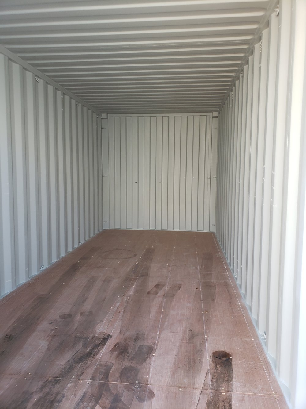 You can almost smell that new container smell!