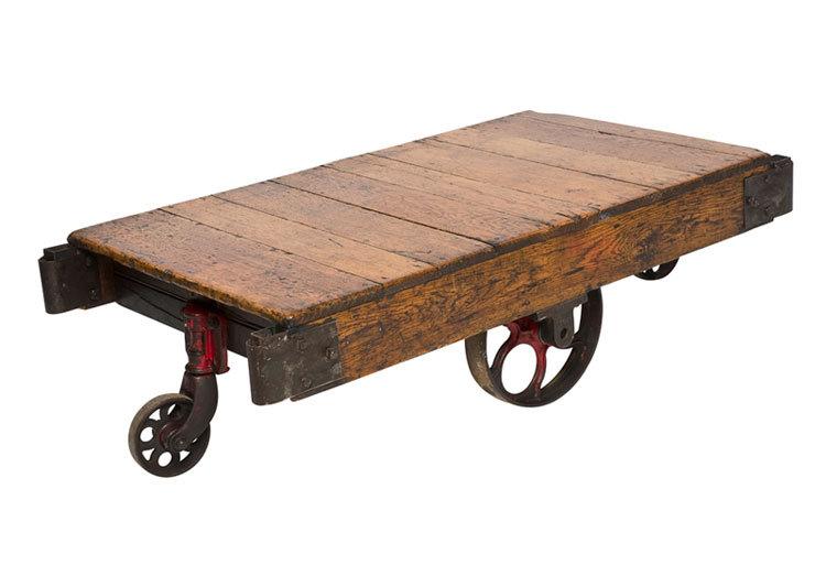 warehouse cart coffee table — rareshizzle