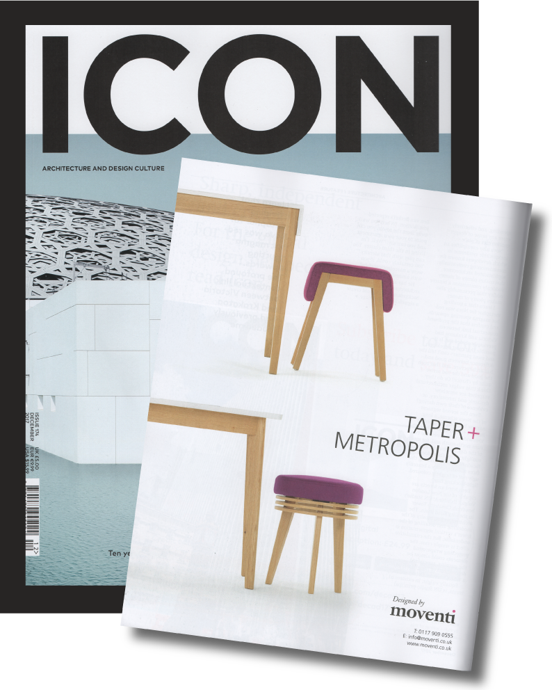 Icon Magazine December 2017 - Metropolis & Taper