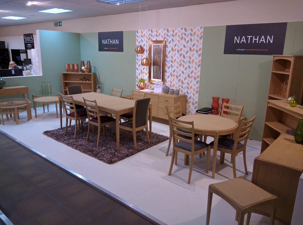 Contour Collection for Nathan Furniture