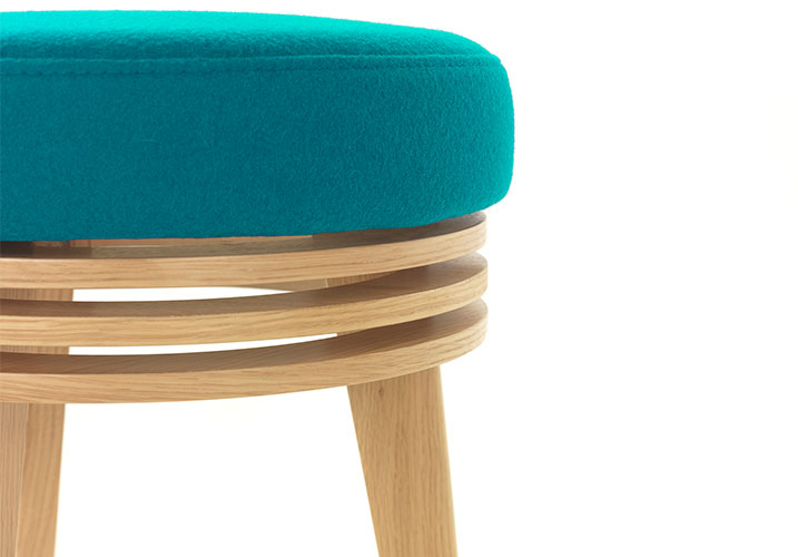 Metropolis Stool for Moventi