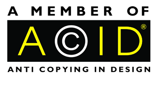Ian Cull Furniture Design Limited is proud to be a member and support the aims and objectives of the trade organisation ACID (Anti Copying in Design). All Ian Cull Furniture Design Limited designs are supported by ACID through their Copyright & Design Databank.
