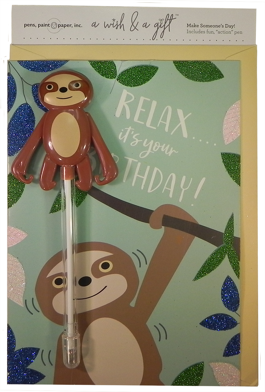 A Wish & A Gift - Sloth  Coming Soon!