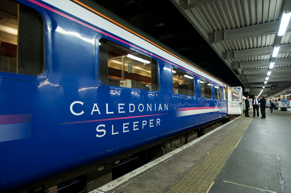The Highland Sleeper, just one look and Euston's sins are forgotten.