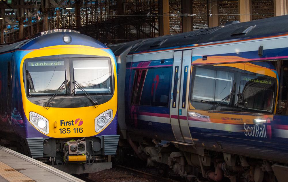 Waverly Station, Edinburgh.