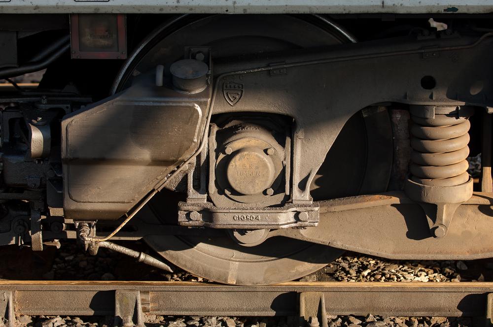Bogie detail, Virgin Trains57302Virgil Tracy.