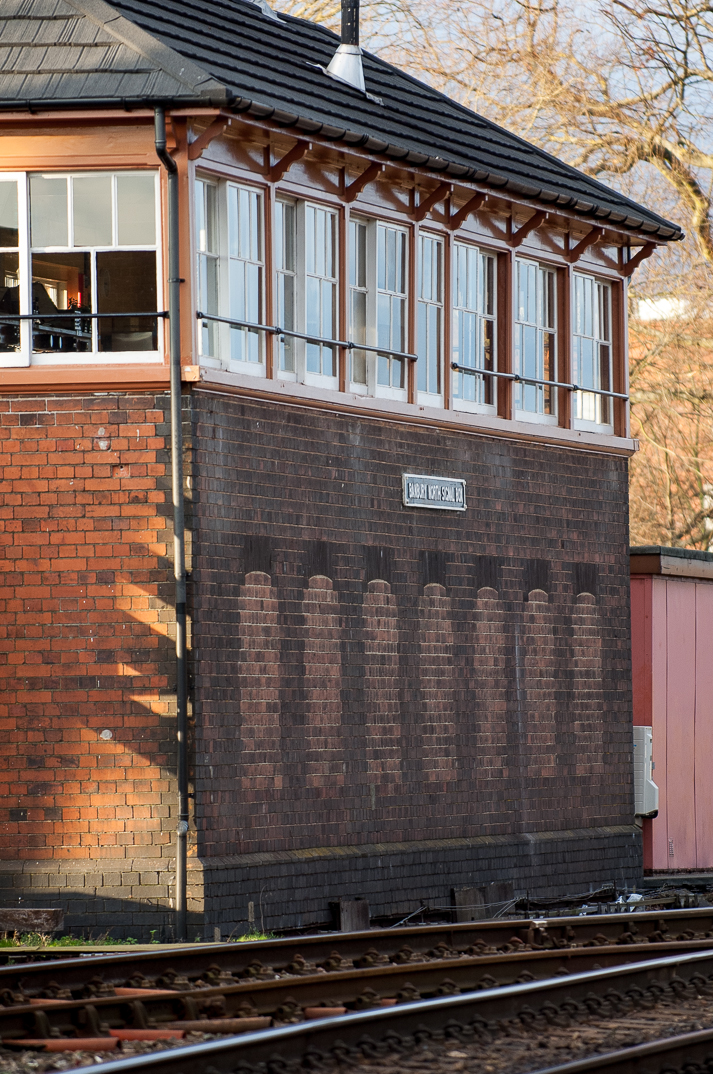 On borrowed time: Banbury North Signal Box, a 95-lever box built by Great Western in 1900.