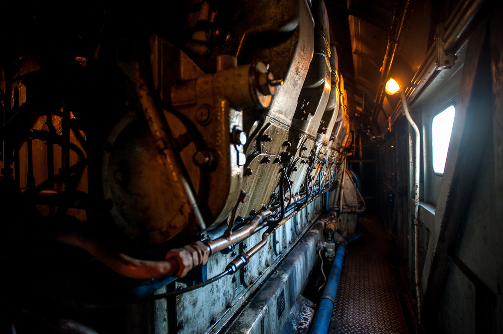 The unexpected realization of a long-held ambition: climbing into the cab of a Class 37, and lingering the engine room in the company of a very much alive English Electric 12CSVT.