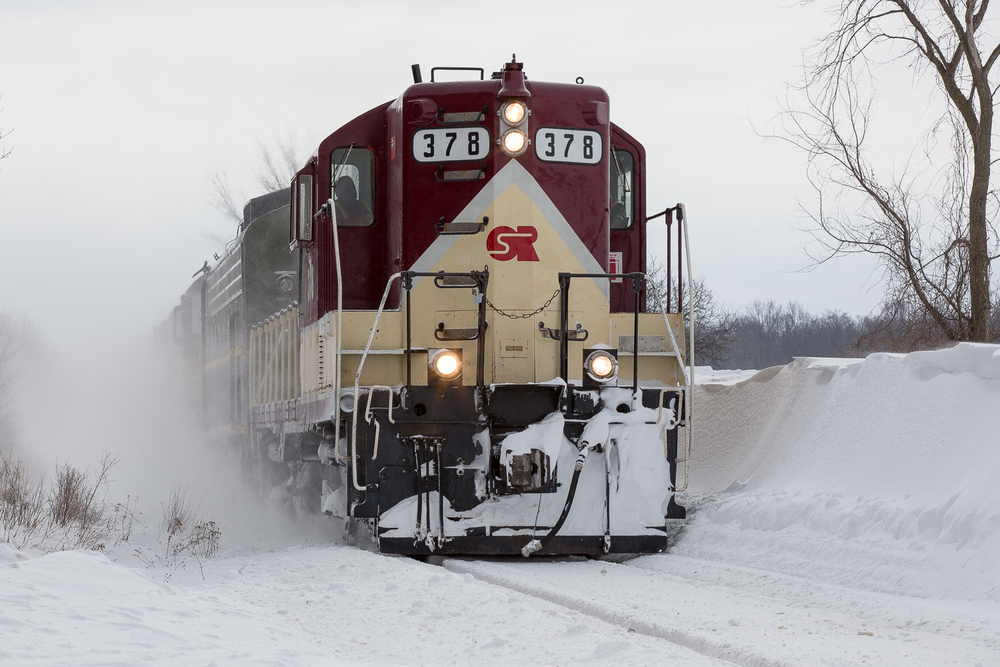 Winter railroading may be tough, but there's an undeniable element of beauty about it.