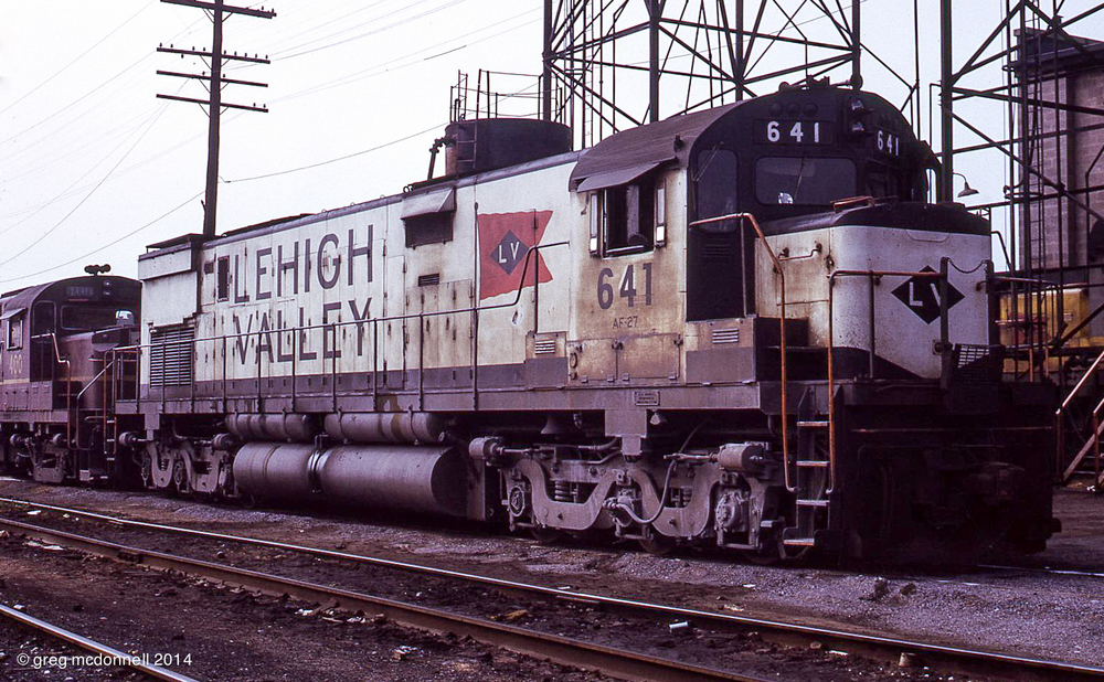 Valley's big white C628s were the first LV diesels I ever saw: on a family trip in 1966.