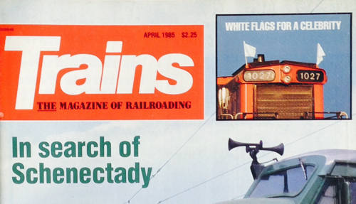 It's a long story, told long ago in April 1985 Trains.