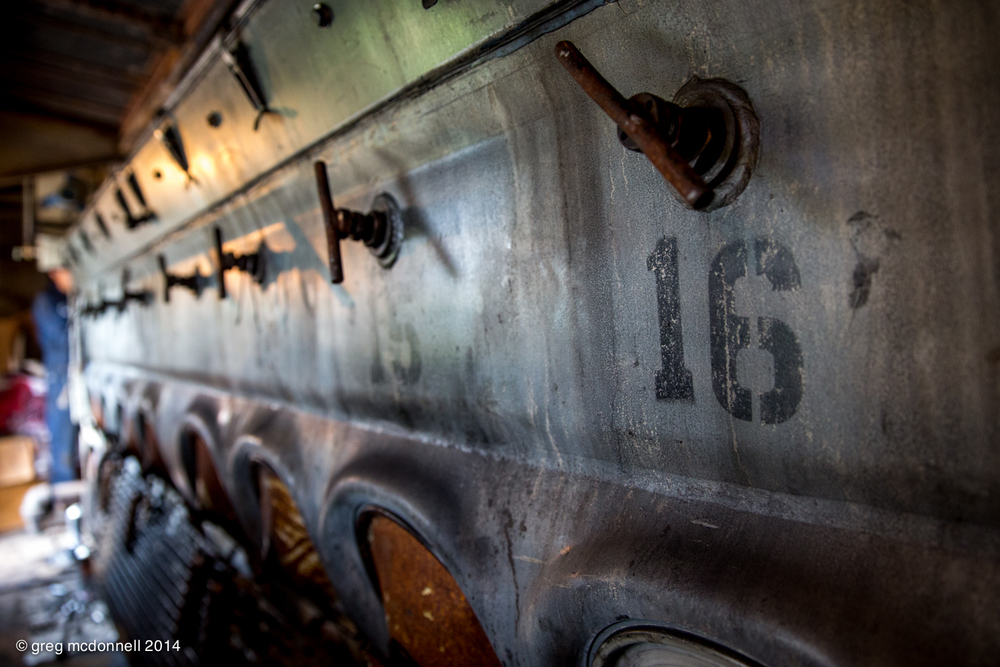 Sixteen cylinders