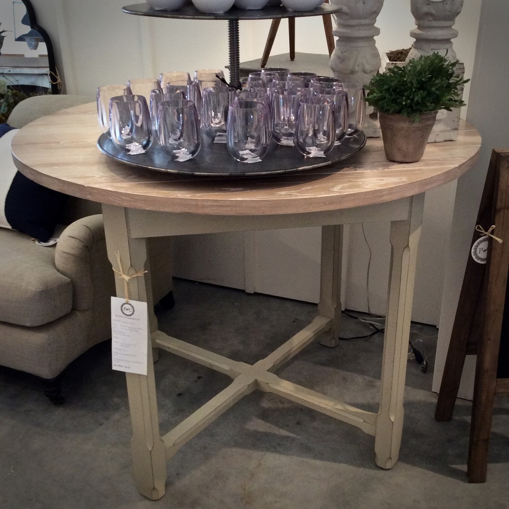 Campagne Table by Hickory Chair Now $1750 Was $4682 48w x 48d x 36h