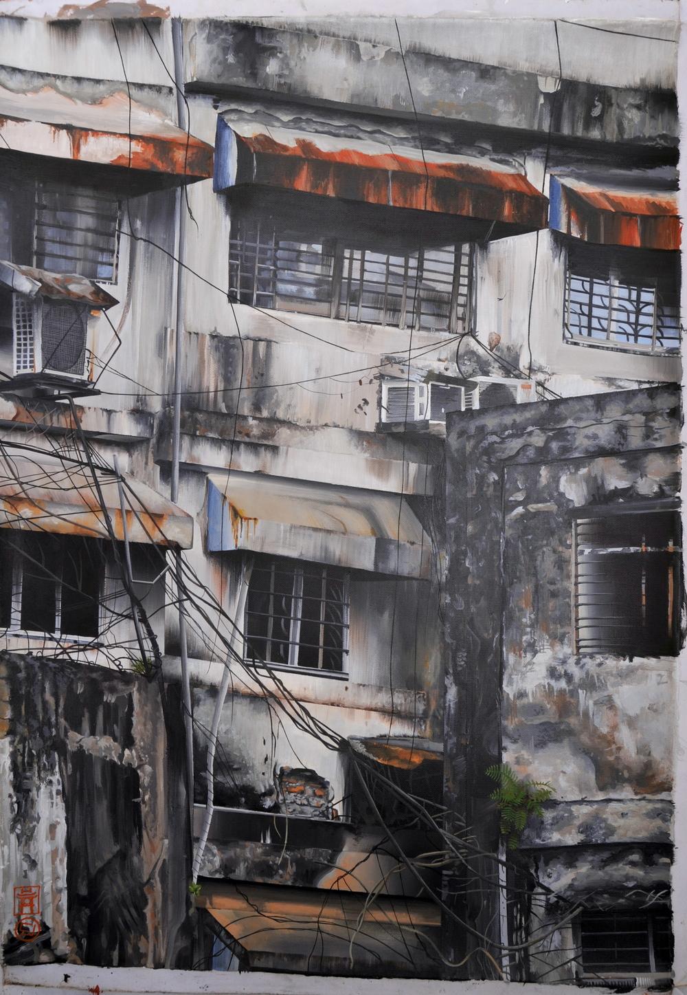 building, Hanoi VN. (20x26)