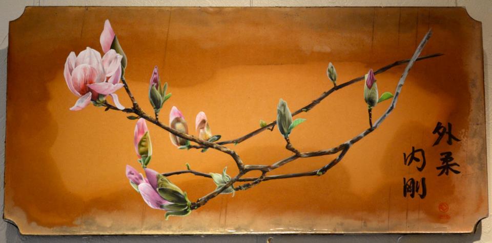 magnolias (16x36)