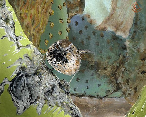 desert bird (8x10)
