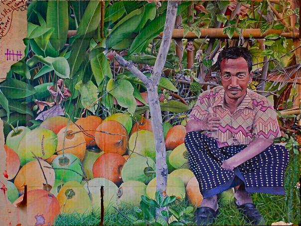 Bali man (24x36)