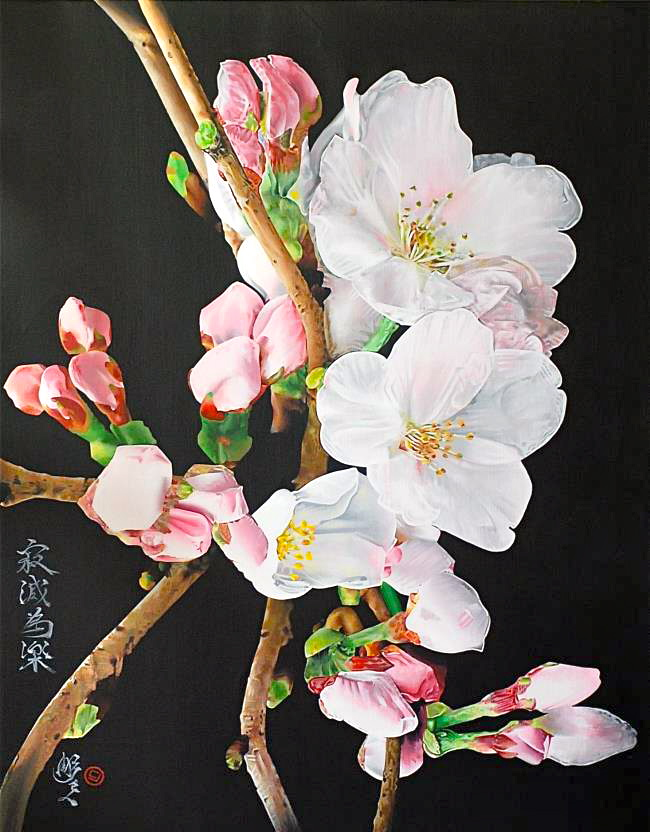 cherry blossoms (24x36)