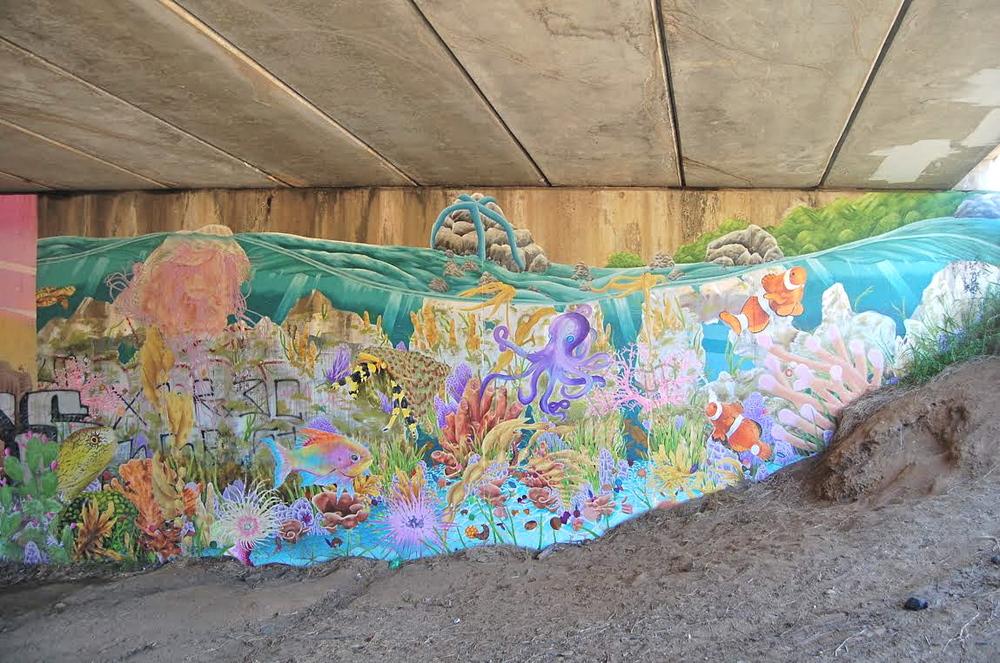 urban sea wall