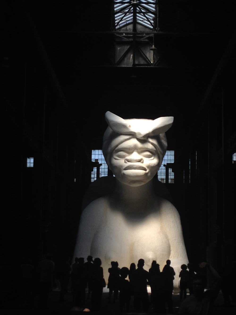 Kara Walker at The Domino Sugar Factory