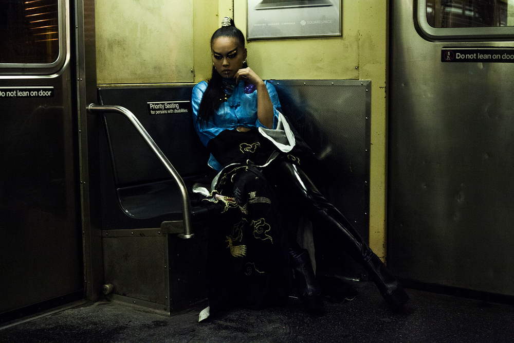 THE NIGHT TRAIN   LADYGUNN MAGAZINE