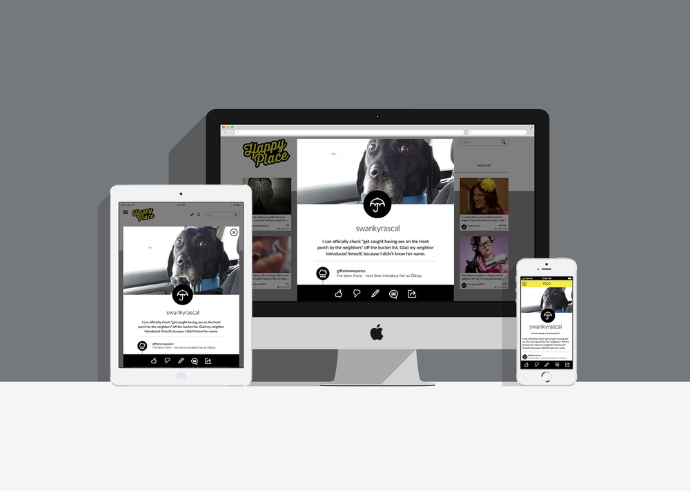 Responsive Design: Feed/Home Page