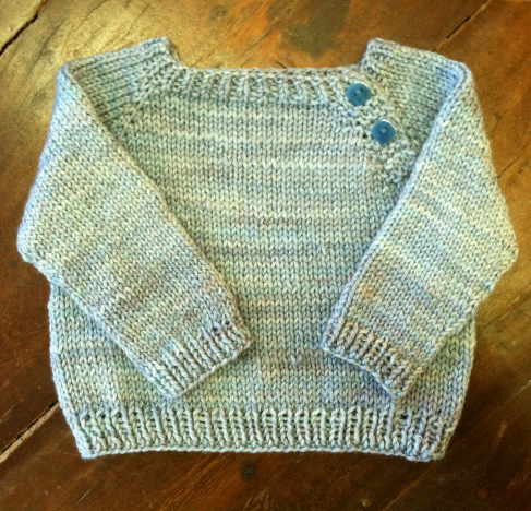 My First Sweater AKA Knitting 103