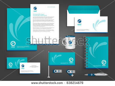 stock-vector-vector-abstract-stationery-corporate-identity-template-design-with-origami-elements-community-638214679.jpg