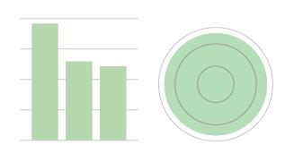 column and circle