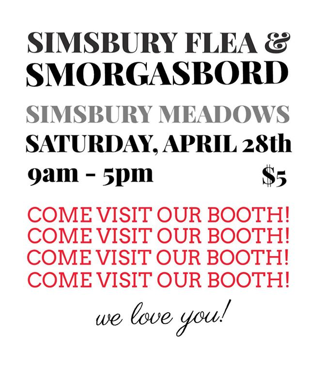 Come visit us this Saturday at the @simsburyflea_smorgasbord !! We have a booth and will be vending the most colorful, wonderful, love affirming items you're sweet heart has ever had the pleasure to lay its eyes on. Please come through and support us! Every purchase brings us that much closer to Society Wolf v2... (and let me tell you, boy HOWDY do you want to see v2 🤩🧚‍♀️💫). //:\\ WE LOVE YOU!! See you there!!! . . . . . . . . #simsburyfleaandsmorgasbord #simsbury #simsburyct #craftfair #craftmarketct #maker #localbusiness #smallbusiness #design #illustration #mothersdayshopping #supportlocalbusiness #bossbitches #love