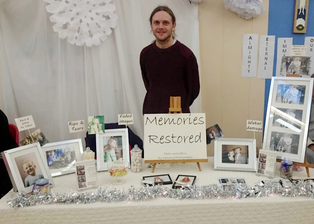 Me and my stall!