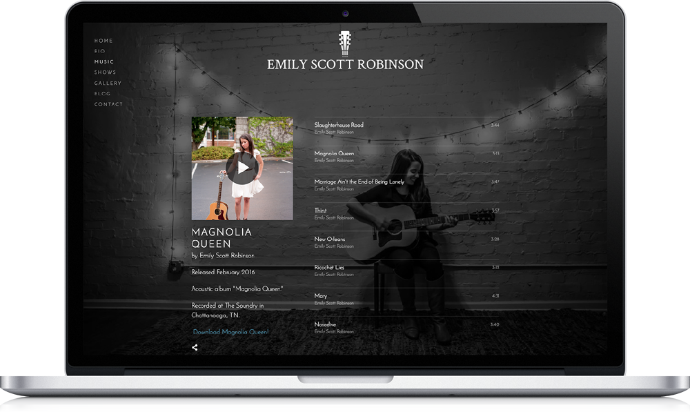 Emily Scott Robinson Music